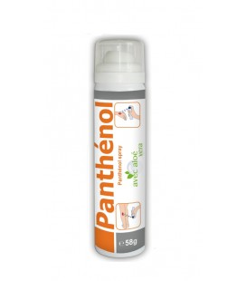 PANTHENOL Spray Aloé Vera Adultes 12 ans+