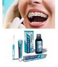 Hygiène en cas de traitement orthodontique et implants.