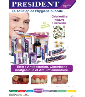 PRESIDENT CLINICAL ANTIBACTERIAL