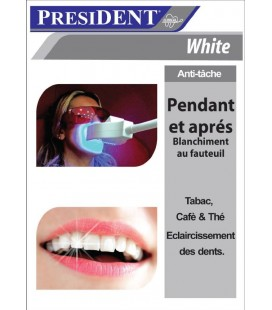 PRESIDENT CLINICAL WHITE